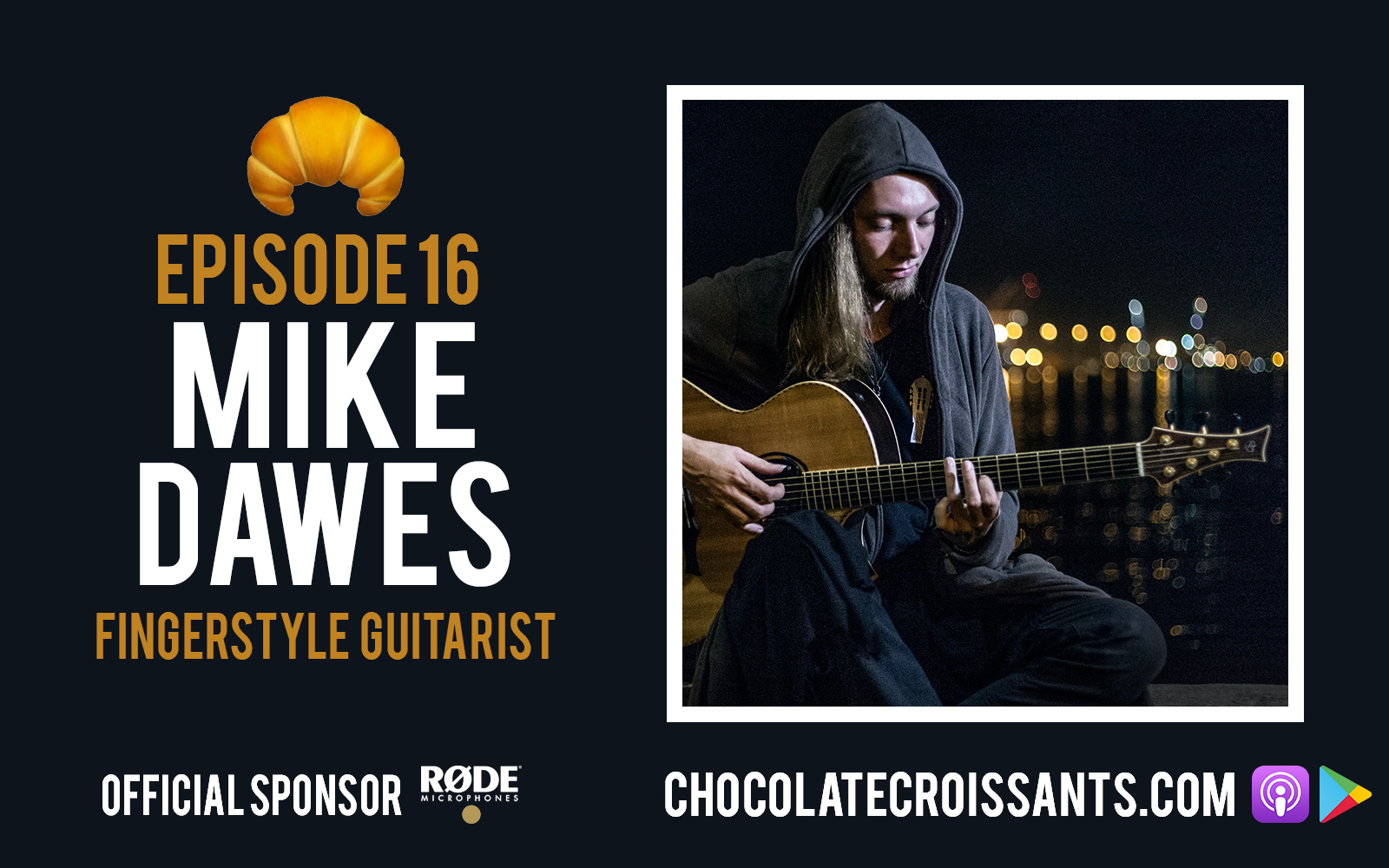 EP16 | Mike Dawes (Fingerstyle guitarist)