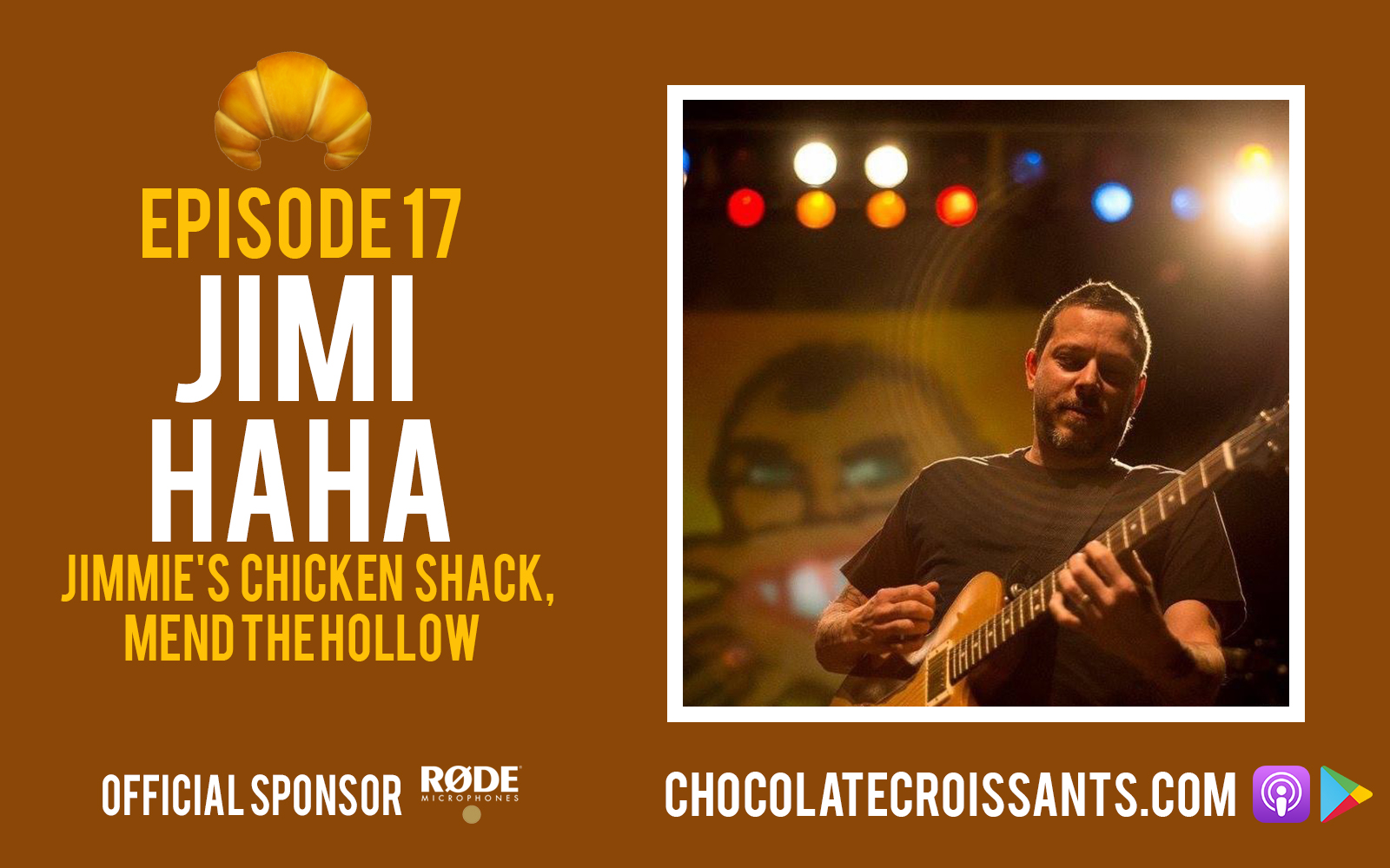 EP17 | Jimi Haha (Jimmie's Chicken Shack, Mend The Hollow)