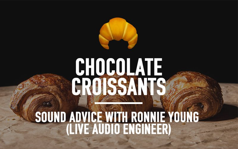 Sound Advice with Ronnie Young (Live Audio Engineer)