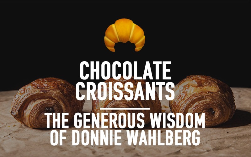 The Generous Wisdom of Donnie Wahlberg